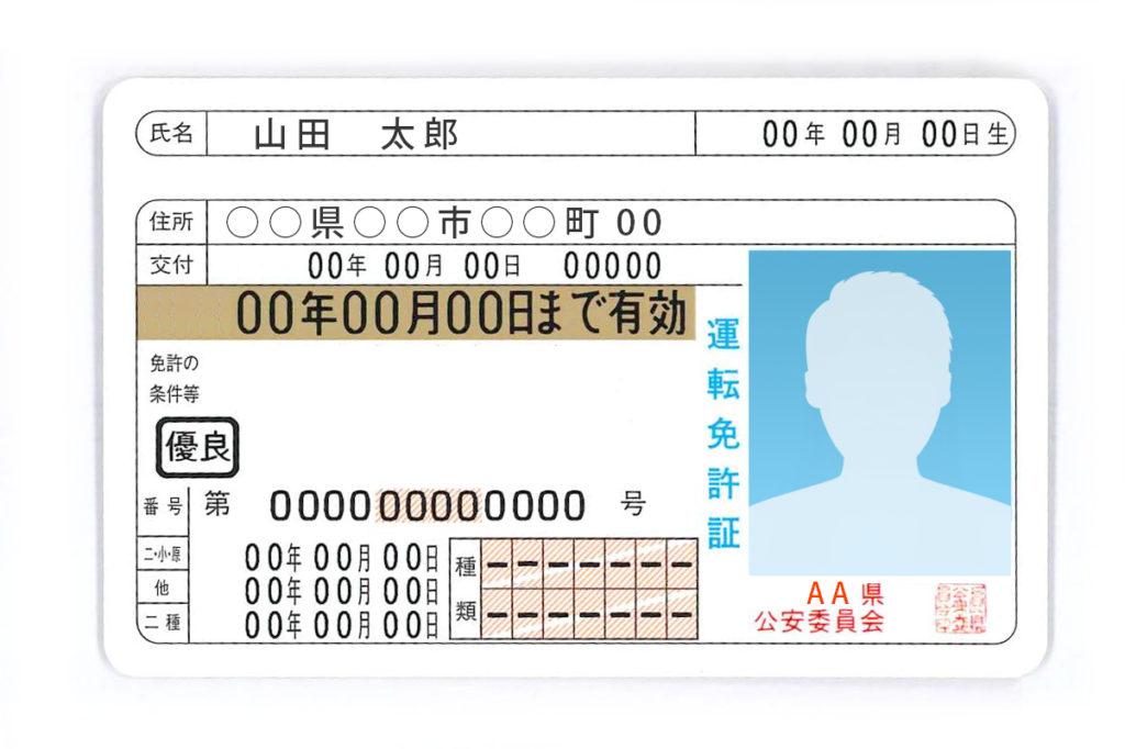運転免許証の12桁の番号の意味!
