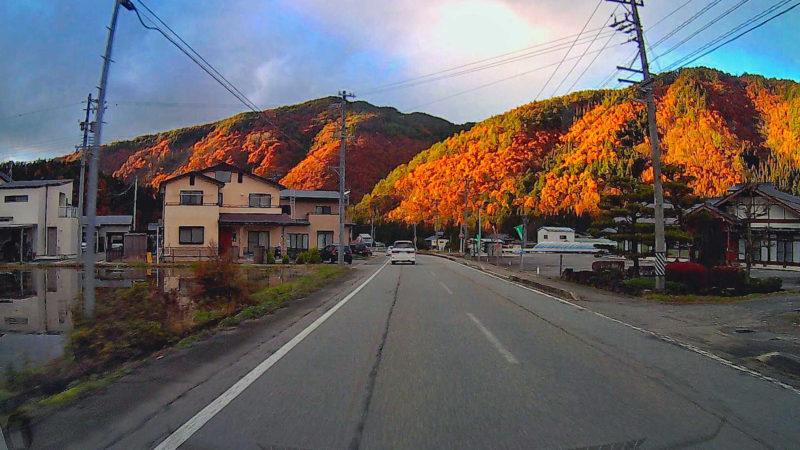 ドライブ時の綺麗な景色を後から楽しむ事が出来る