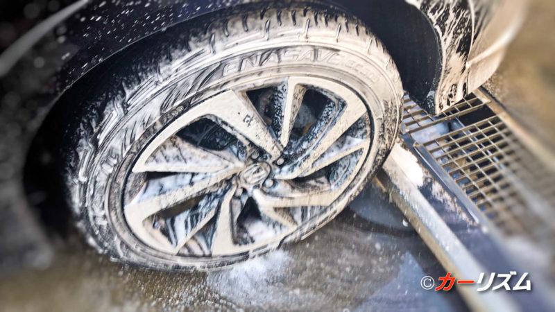 特にタイヤやホイール洗浄には最適