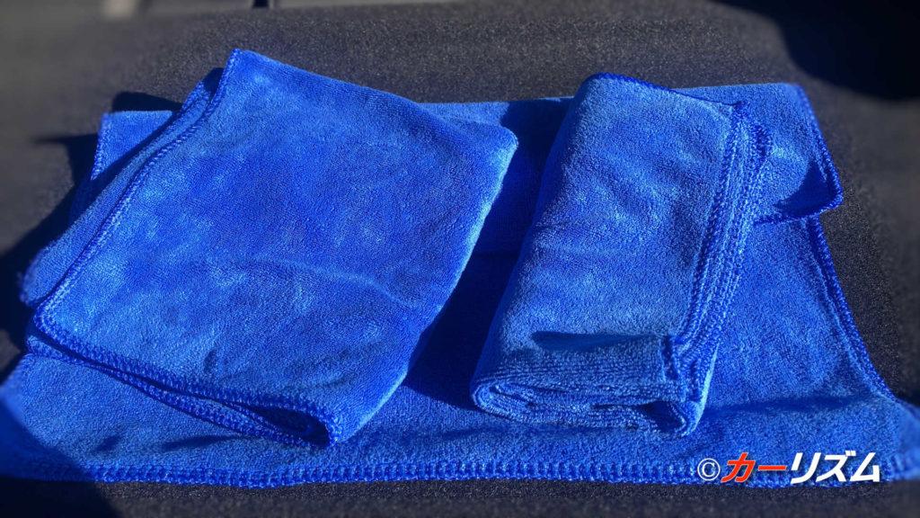 洗車後の拭き上げで「CARZOC マイクロファイバータオル」を実際に使ってみたレビュー!