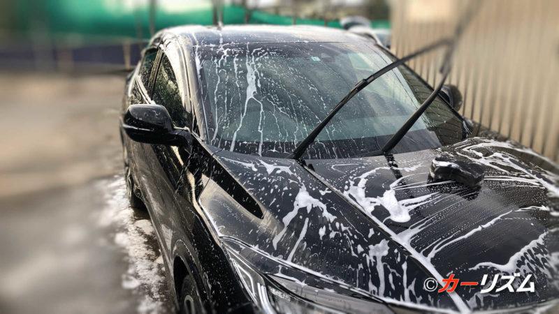 VOODOORIDE(ブードゥーライド) JUJU(ジュジュ)の泡で洗車