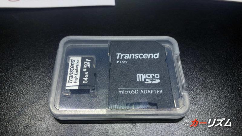 Transcend 高耐久 microSDカード 64GB UHS-I U1 Class10 ドライブレコーダー用 TS64GUSD350V