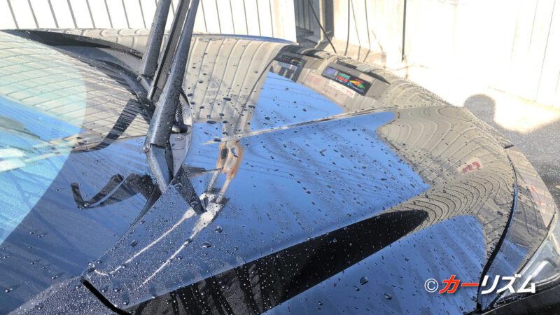 VOODOORIDE SEALANT施工後の洗車